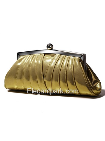 Gorgeous Ladies Golden PU Handbags/Evening Bag/Clutches