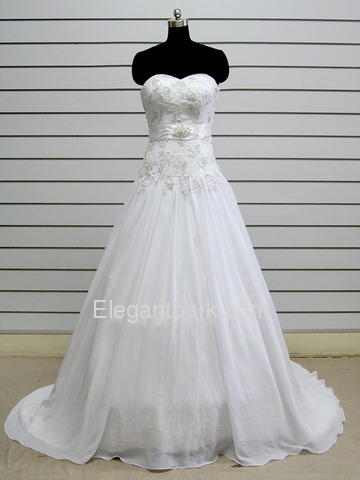 babydoll wedding dress