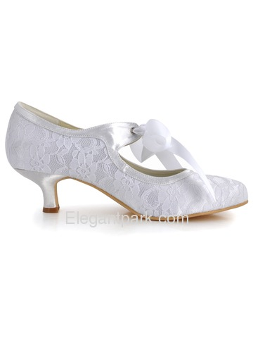 Kitten Heel Bridal Shoes | Select Your Shoes