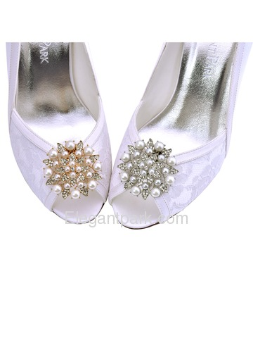 cf76cf594e825 ElegantPark New Fashion Pearls Rhinestones Wedding Party Shoe Clips ...