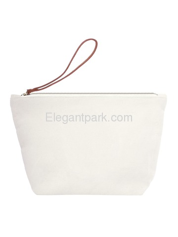 PERSONALIZED Custom Gift Tote Monogram Initial Diamond Embroidery Makeup Bag with Zip